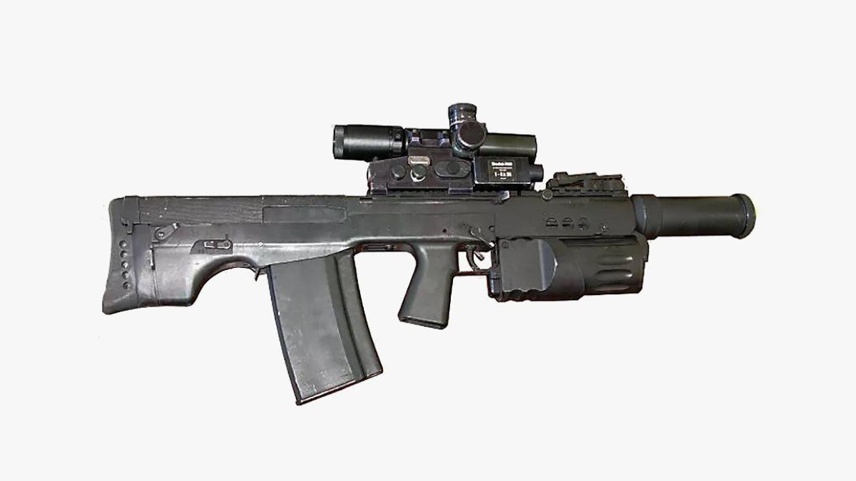 Крупнокалиберный автомат АШ-12
