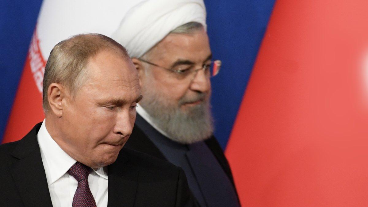 Путин и Рухани