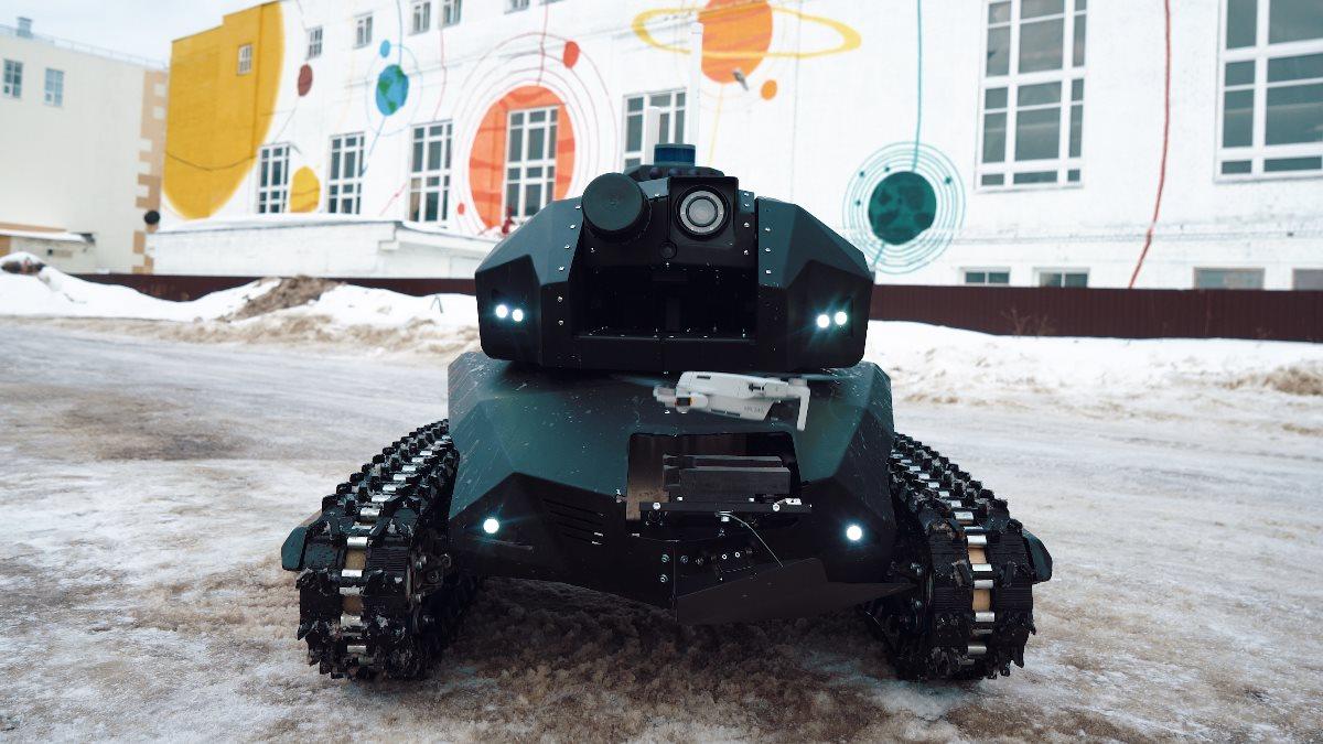 Робот-патрульный Скорпион