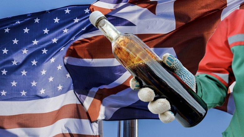 США и Британия закупают нефть у России