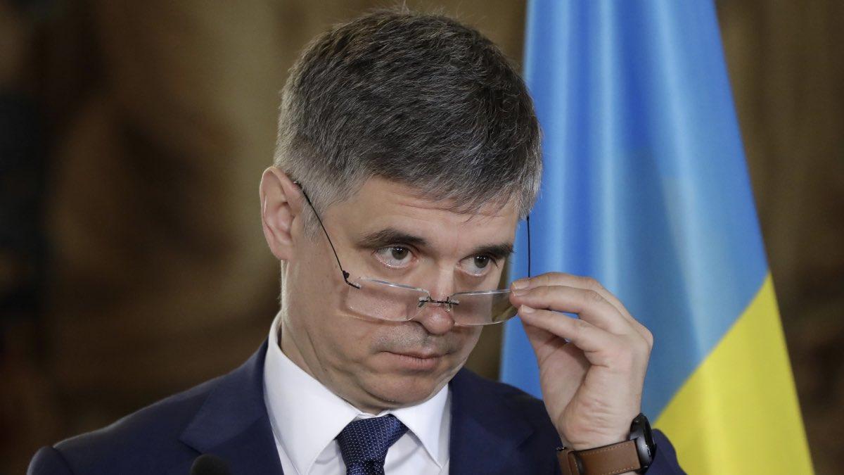 Вадим Пристайко, министр иностранных дел Украины