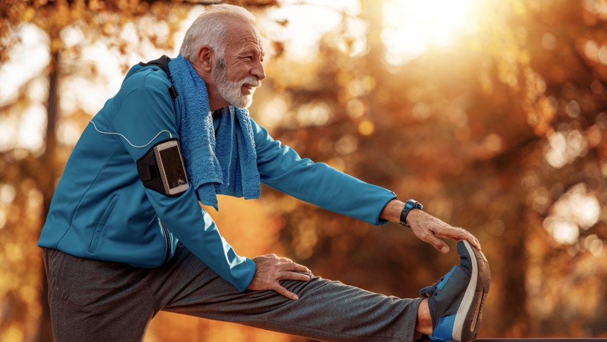 физические упражнения дед старик