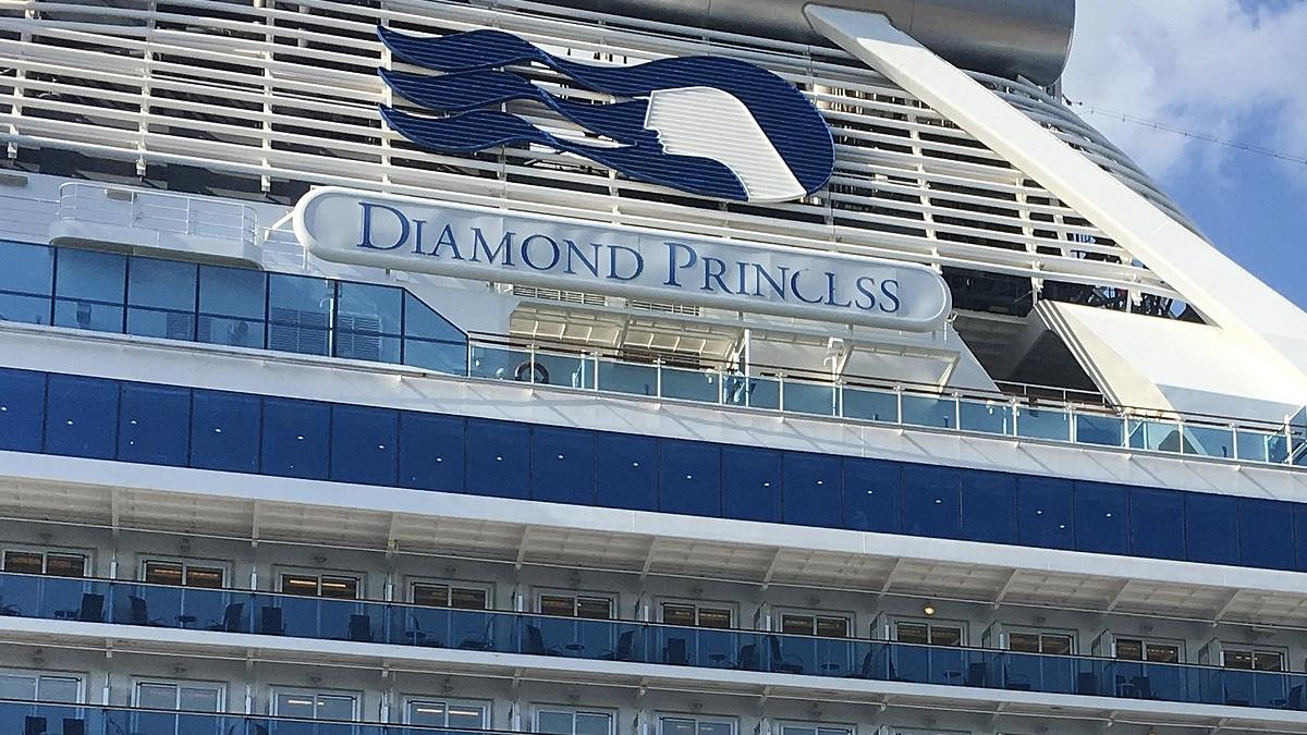 каюты Diamond Princess