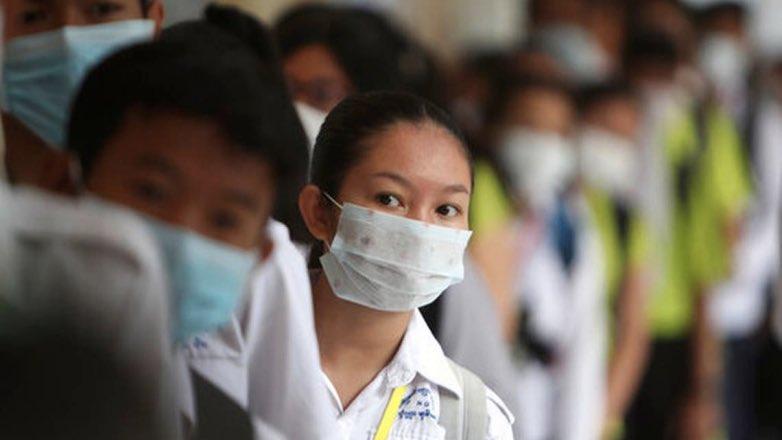 коронавирус маски люди