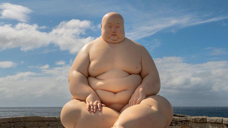 ожирение мужчина