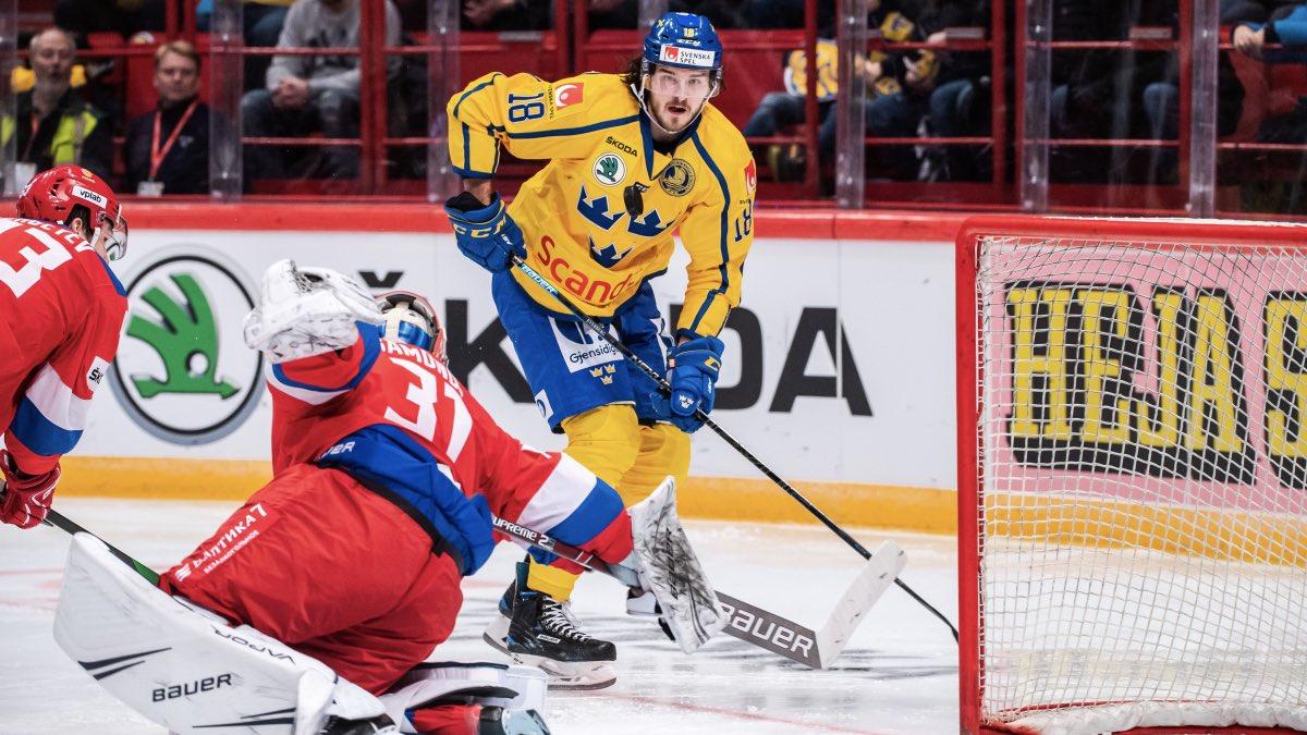 россия швеция хоккей