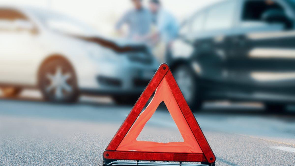Авария столкновение машин