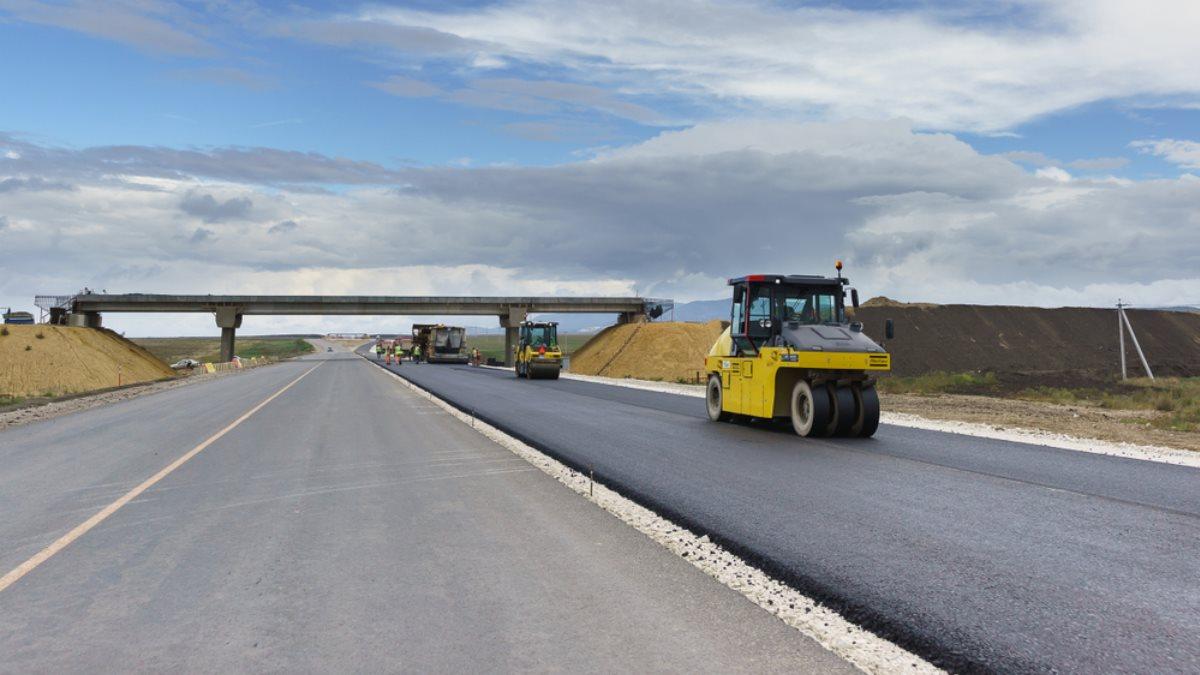 Строительство дорога трасса асфальт Таврида