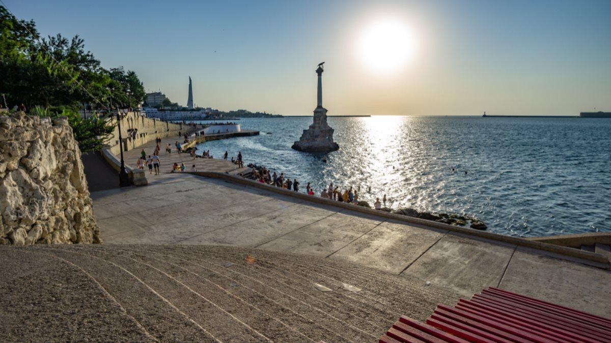 Севастополь Крым туризм солнце