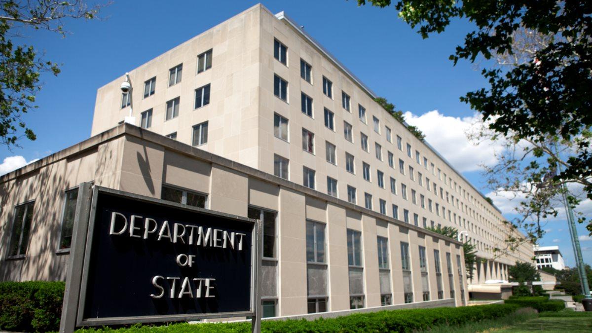 Здание Госдепартамента США в Вашингтоне один