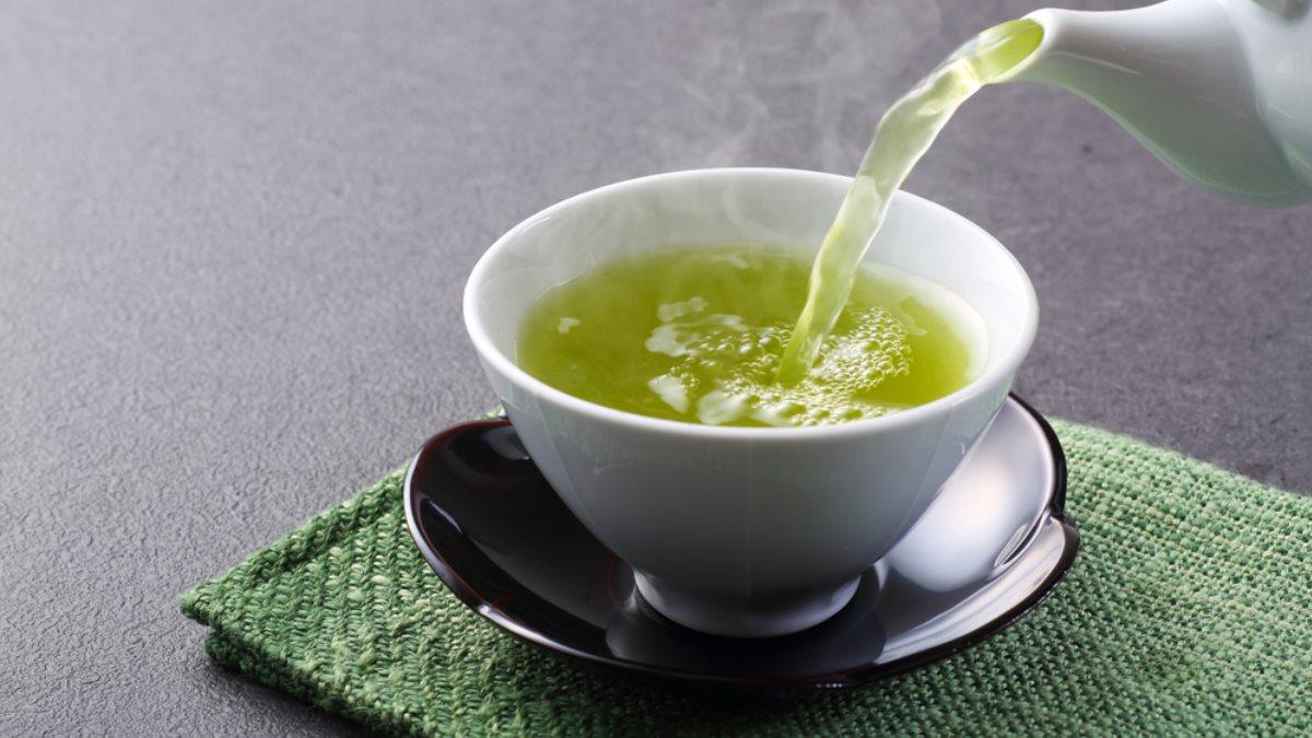 Зелёный чай один
