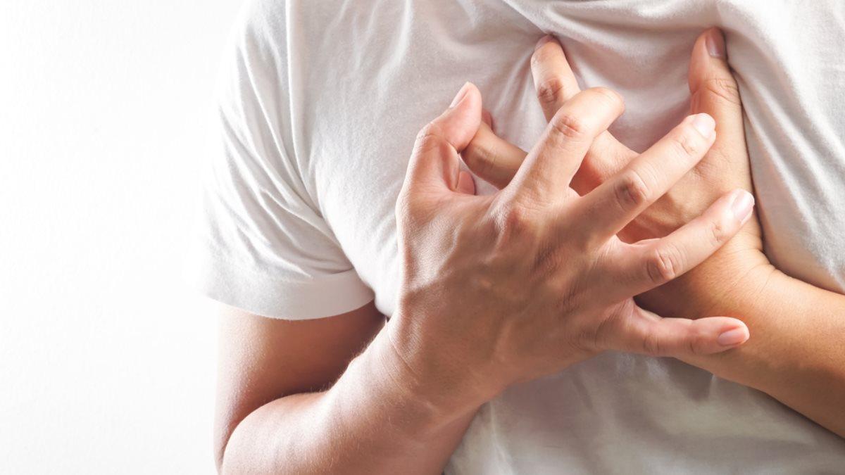Боль в груди сердце сердечный приступ инфаркт два