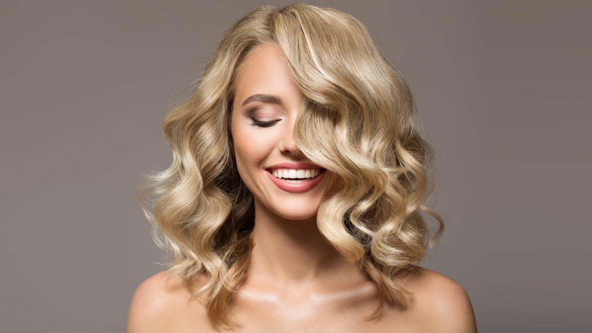 Блондинка окрашивание волос