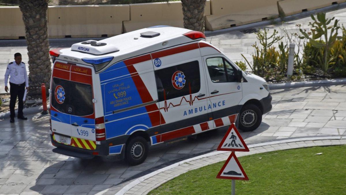 ОАЭ скорая помощь коронавирус Объединенные Арабские Эмираты