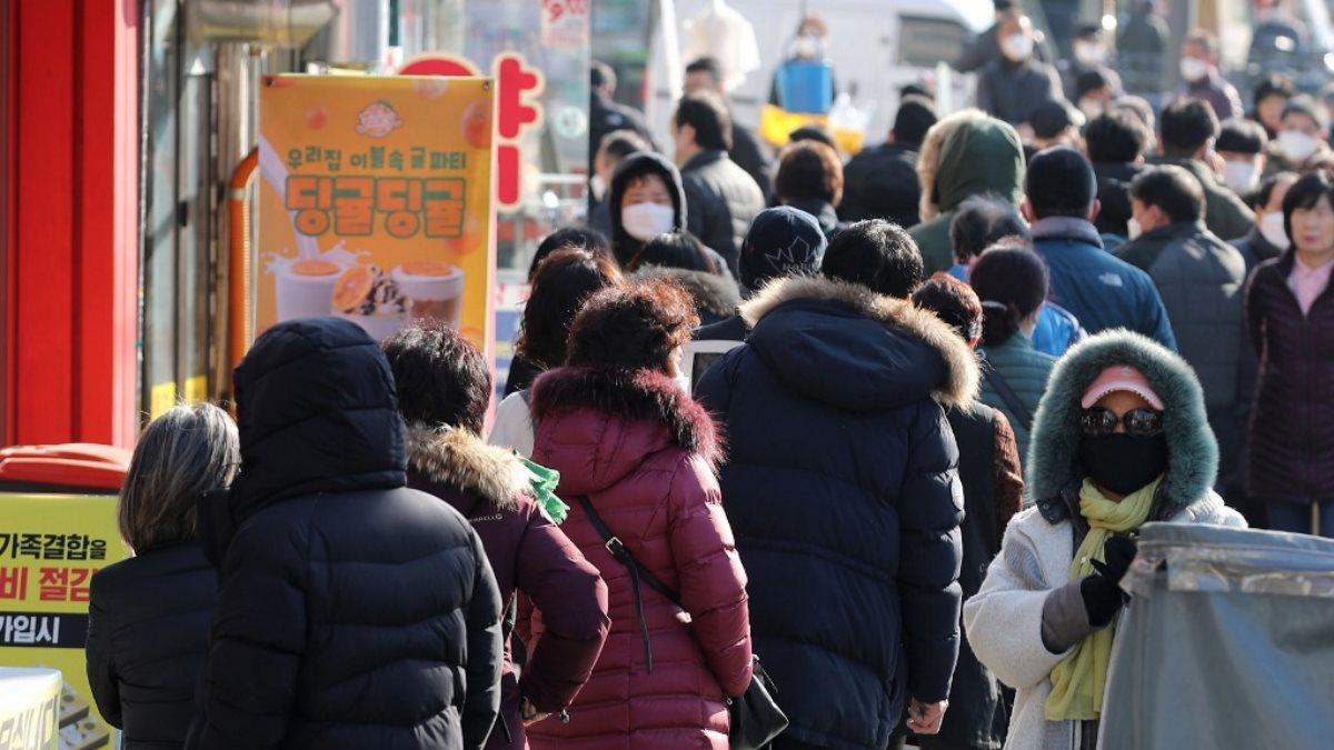 Коронавирус Сеул Южная Корея улица