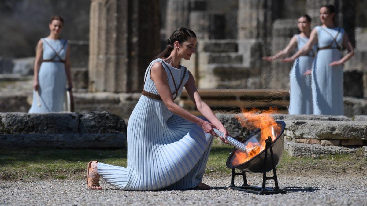 Олимпийский огонь для Игр-2020