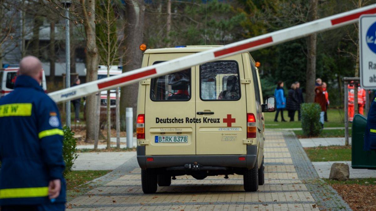 Германия скорая помощь Красный Крест коронавирус