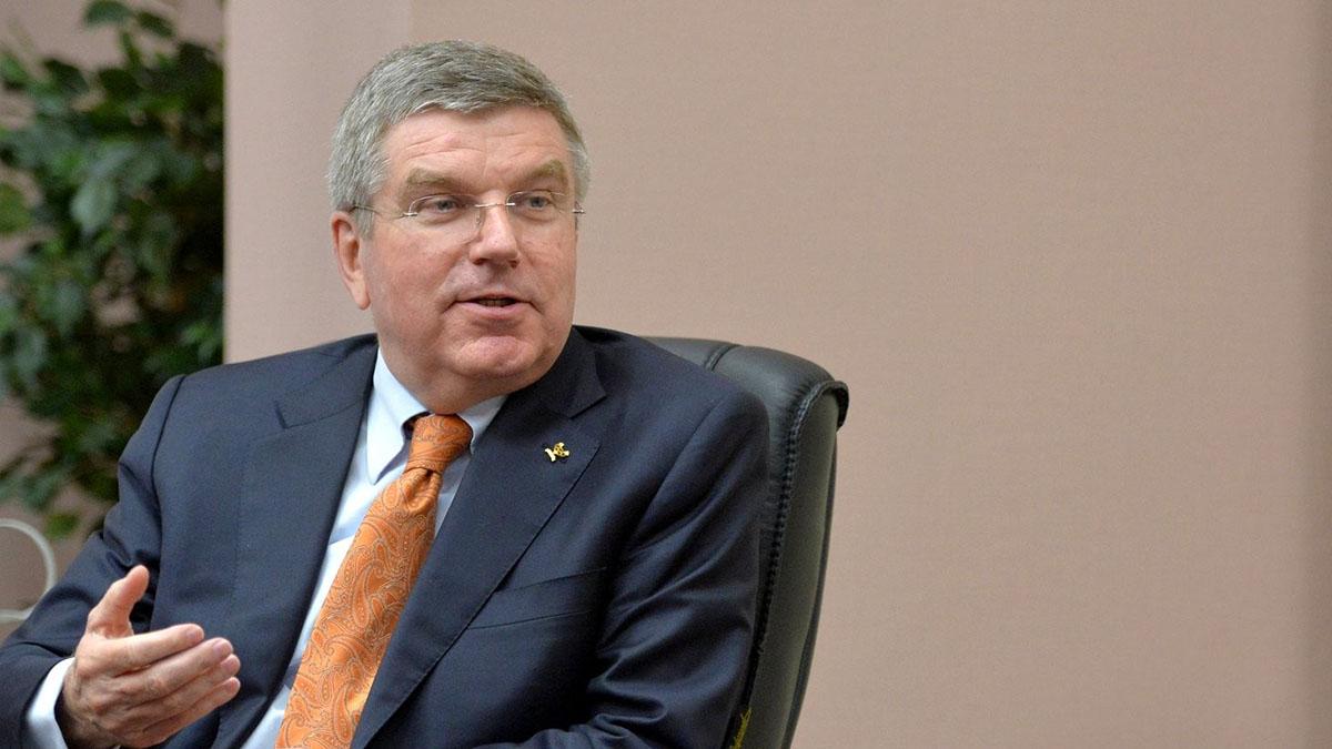 Президент Международного олимпийского комитета Томас Бах МОК