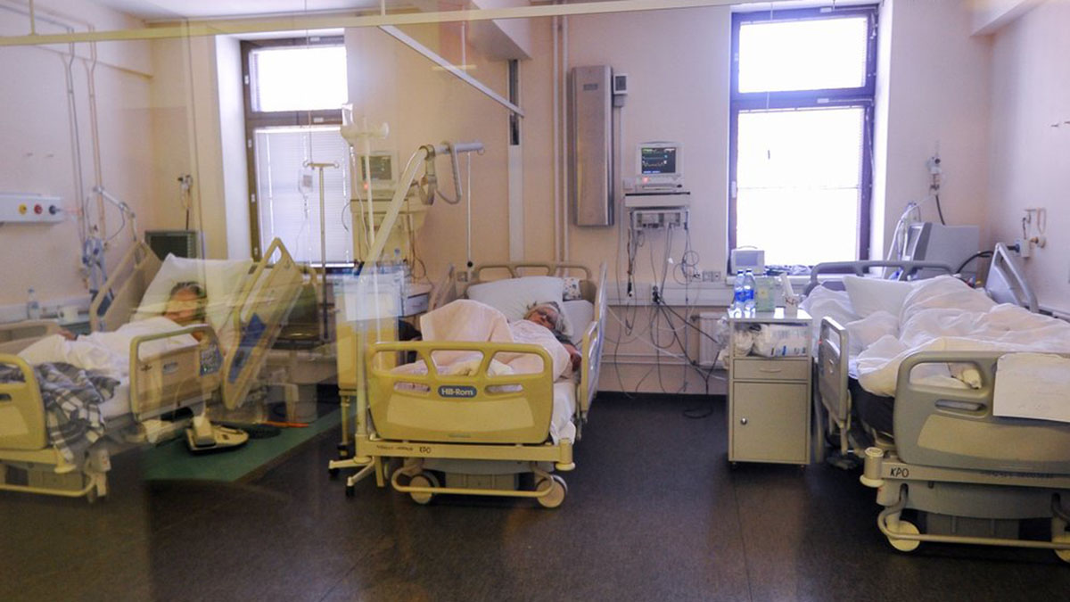 Коронавирус COVID-19 Пандемия Больница
