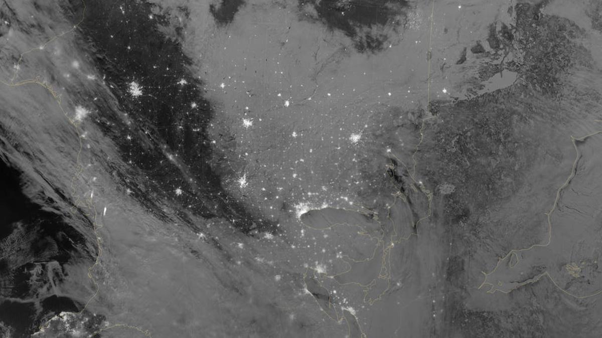 Спутниковая фотография