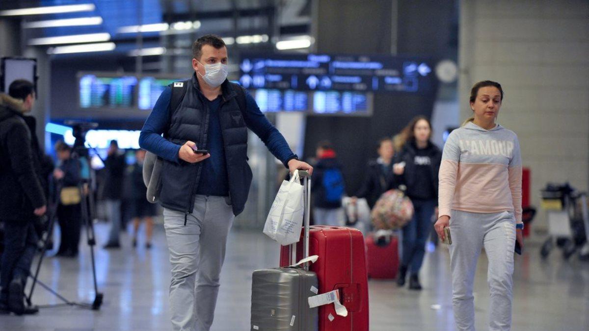 Аэропорт коронавирус Россия