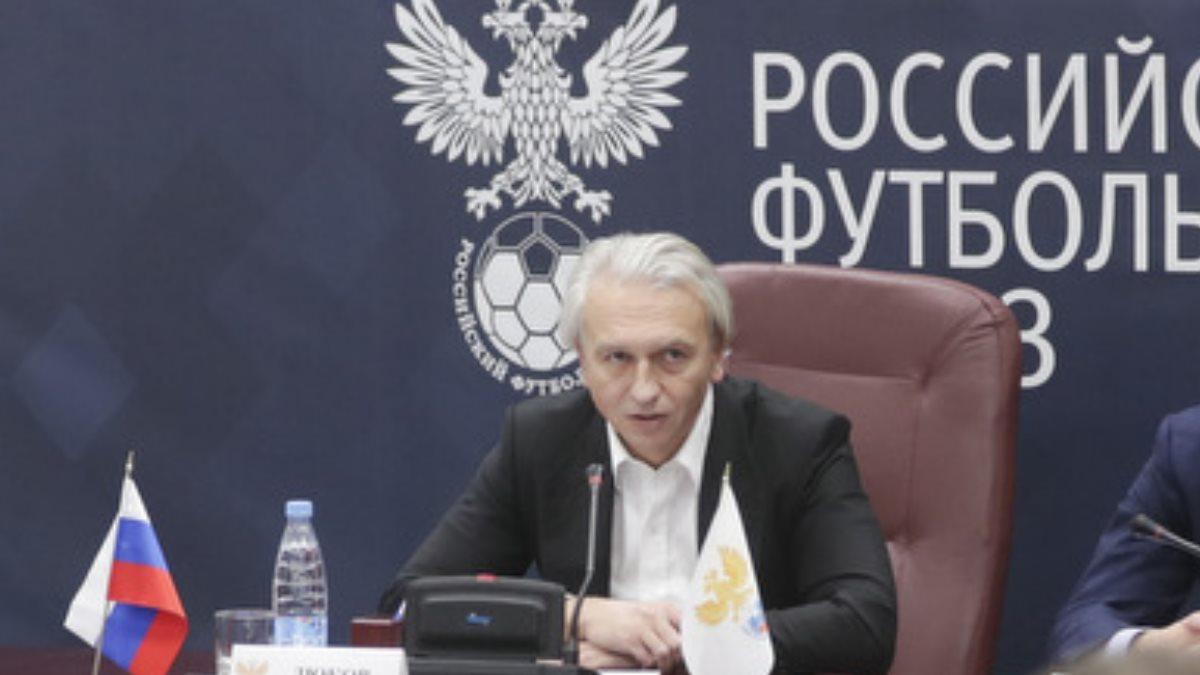 Глава РФС Александр Дюков