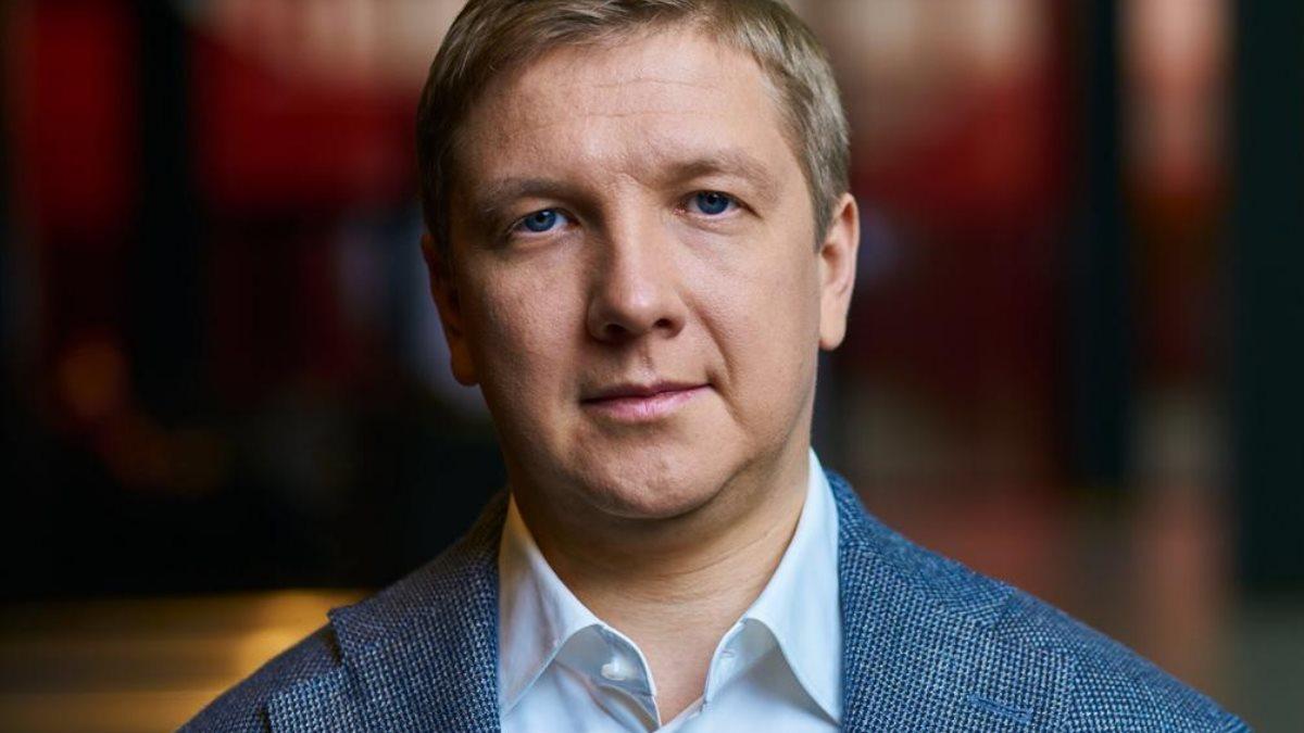 Глава правления компании Нафтогаз Андрей Коболев