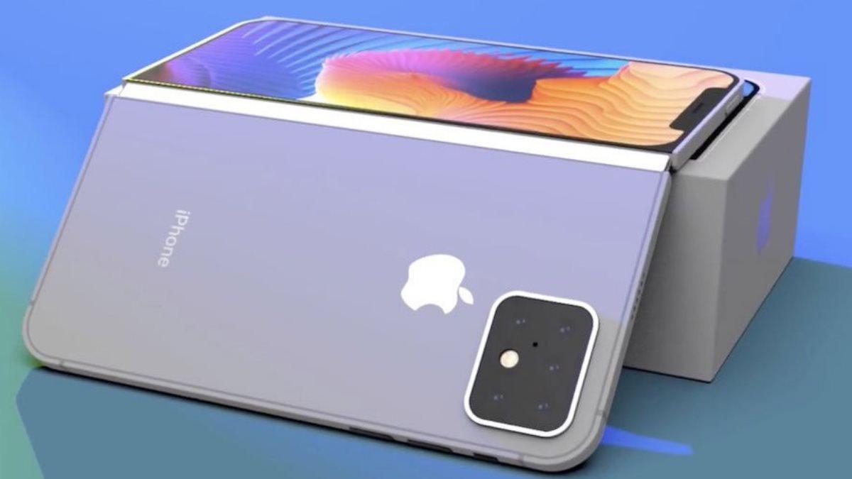 Apple изобрела iPhone с двумя экранами