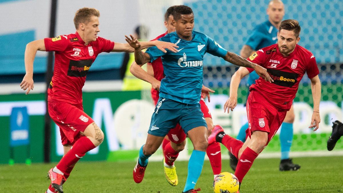 Футбол Зенит-Уфа