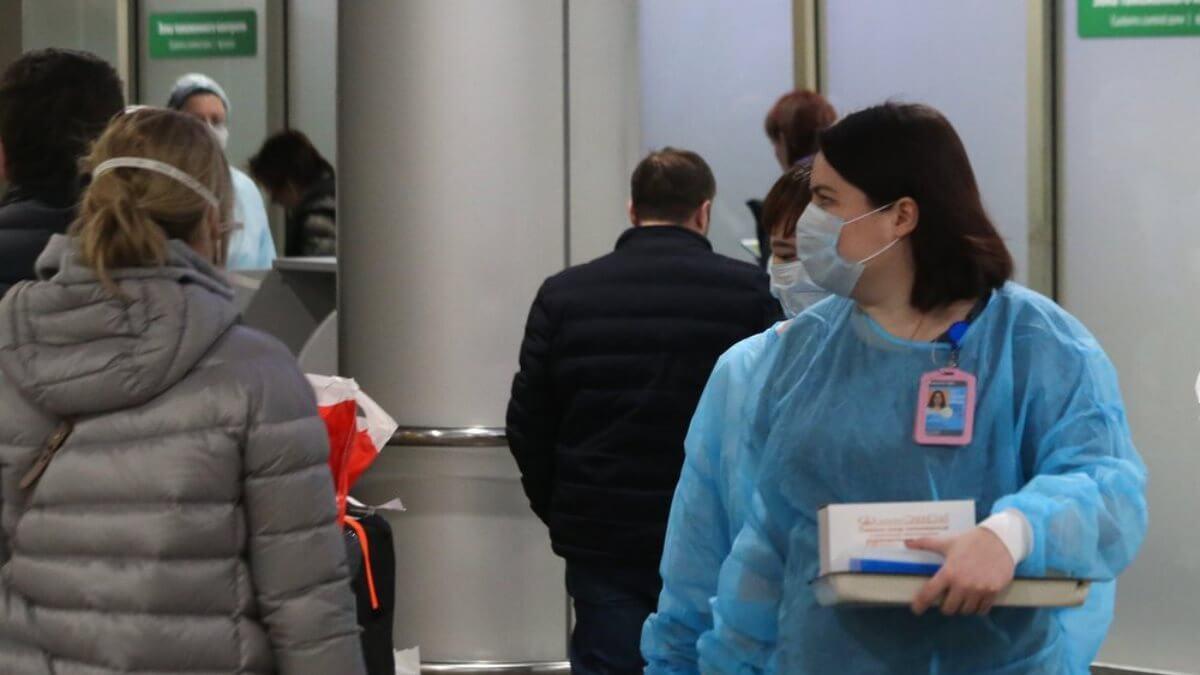 Коронавирус аэропорт Шереметьево терминал F врачи вирусологи