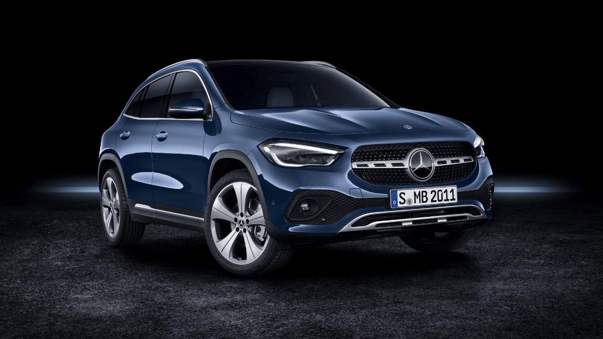 Mercedes-Benz GLA второго поколения
