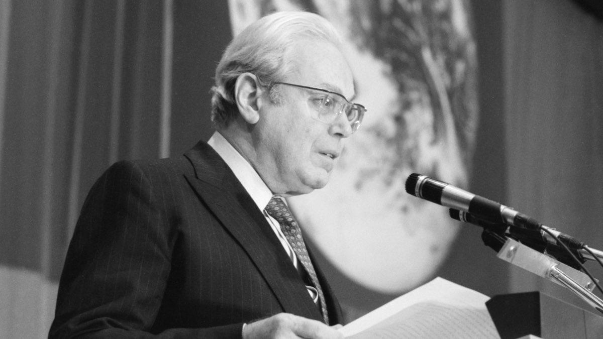 Генеральный секретарь ООН Хавьер Перес де Куэльяр