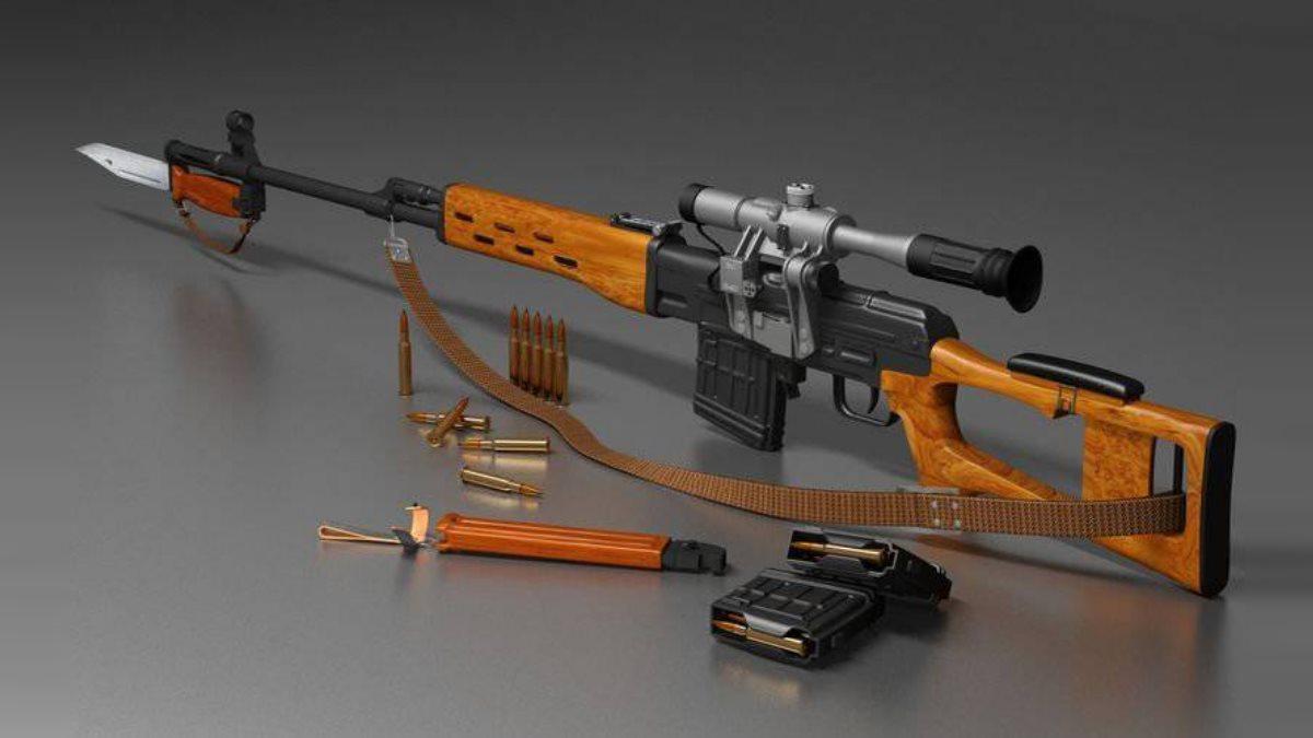 СВД - Снайперская винтовка Евгения Драгунова