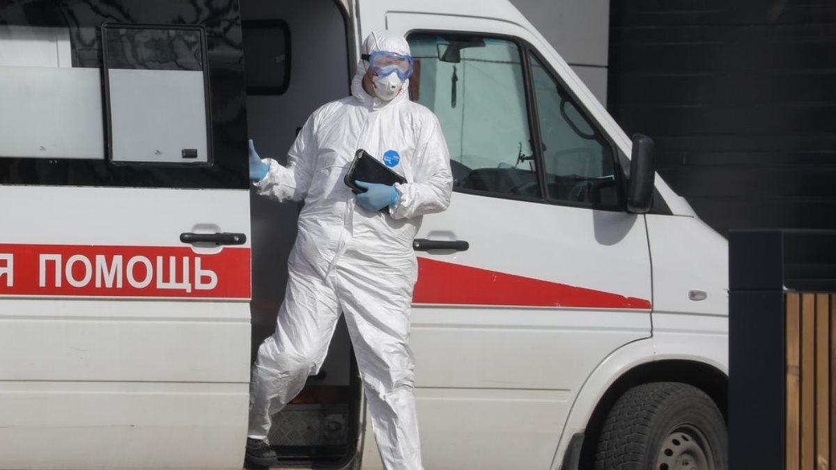 Россия Скорая помощь коронавирус белый