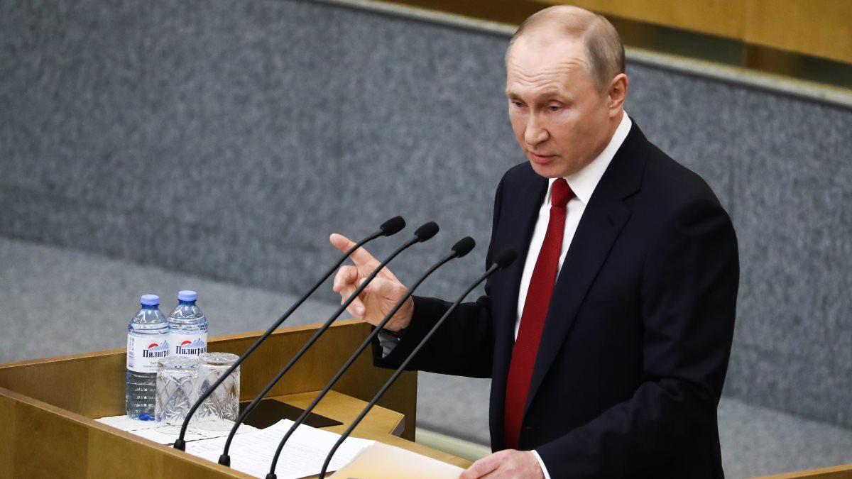 Президент Российской Федерации Владимир Путин Госдума