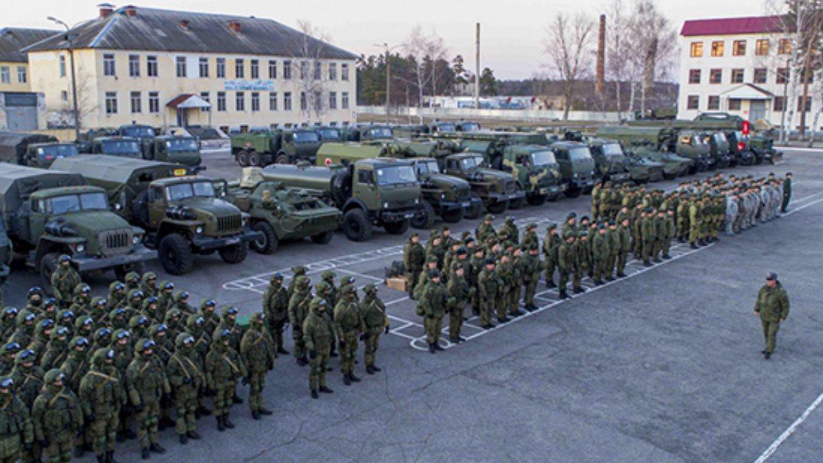 Военные учения мобилизация плац