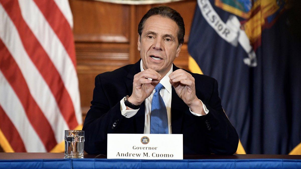 губернатор штата Нью-Йорк Эндрю Куомо