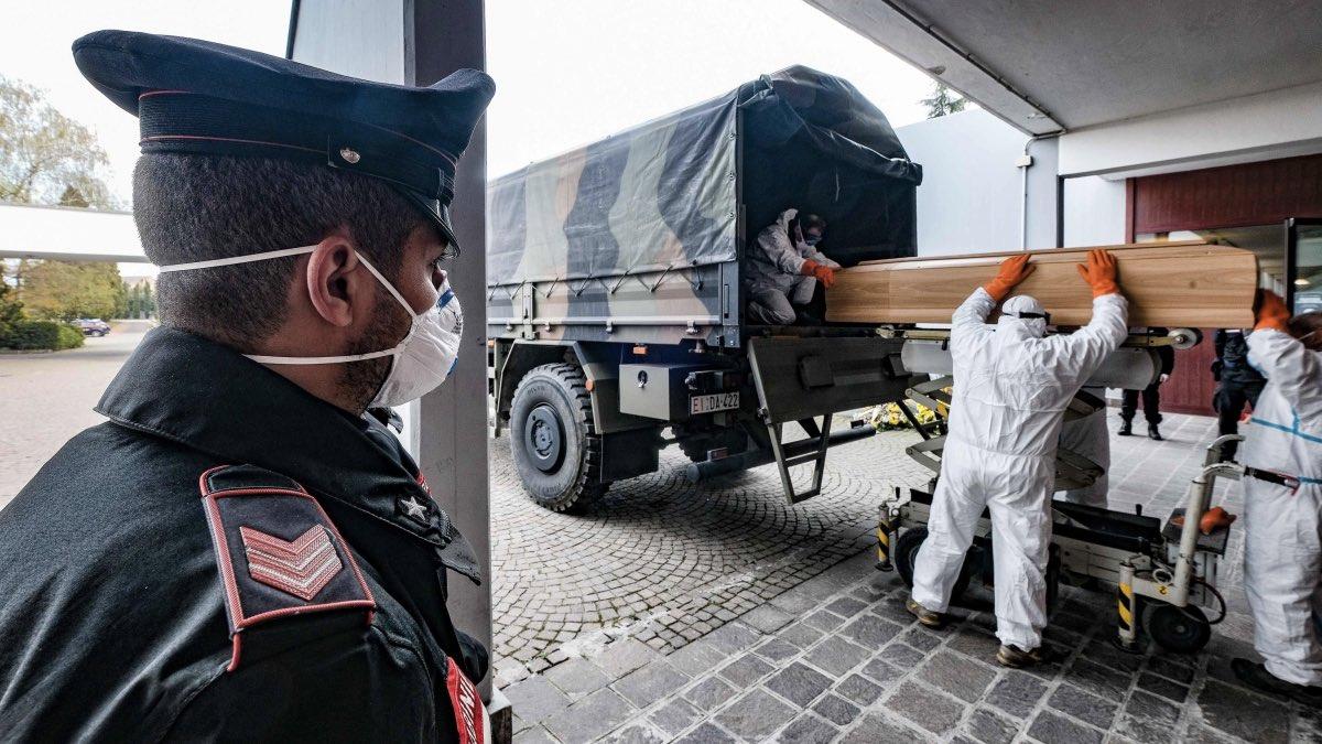погибшие от коронавируса в Италии