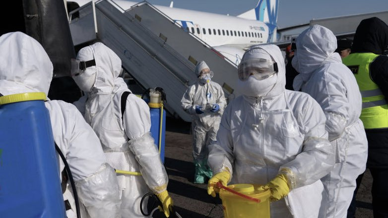 санобработка дезинфекция аэропорт самолет