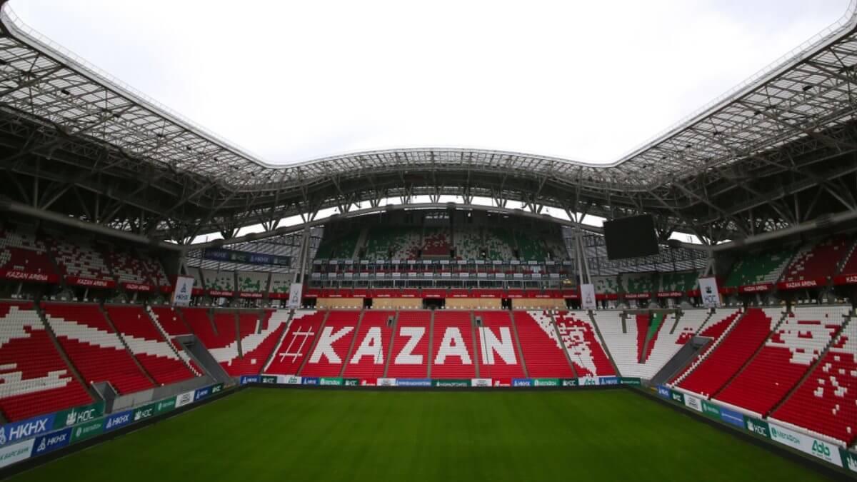Стадион Ак Барс Арена - бывший Казань Арена