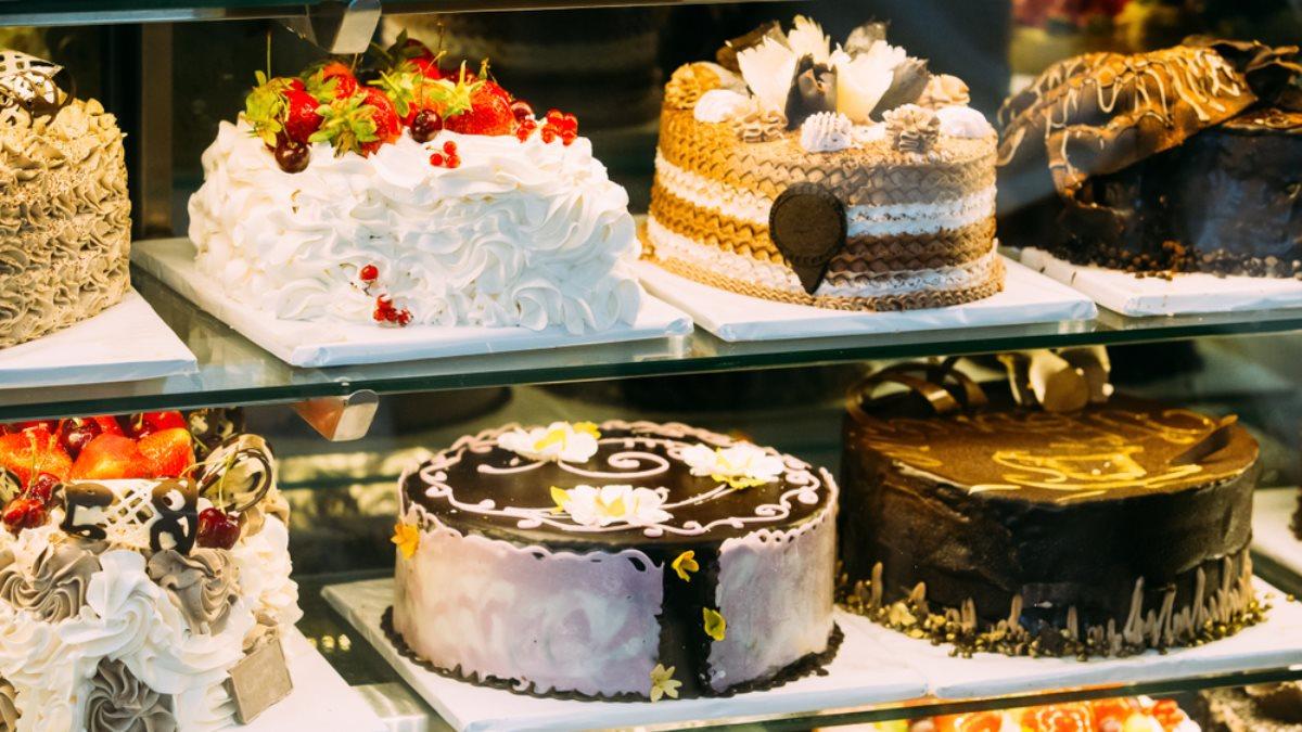 Торты сладости сладкое прилавок