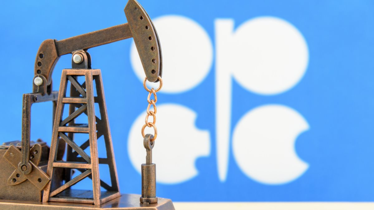 OPEC ОПЕК логотип нефть добыча один