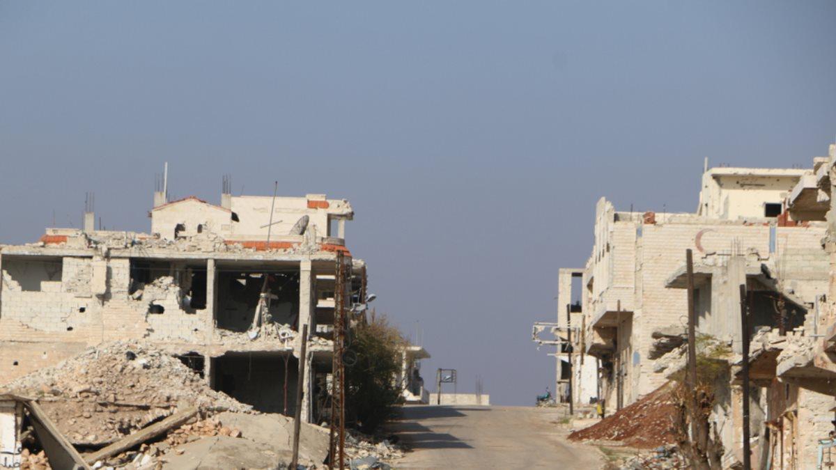 Сирия руины