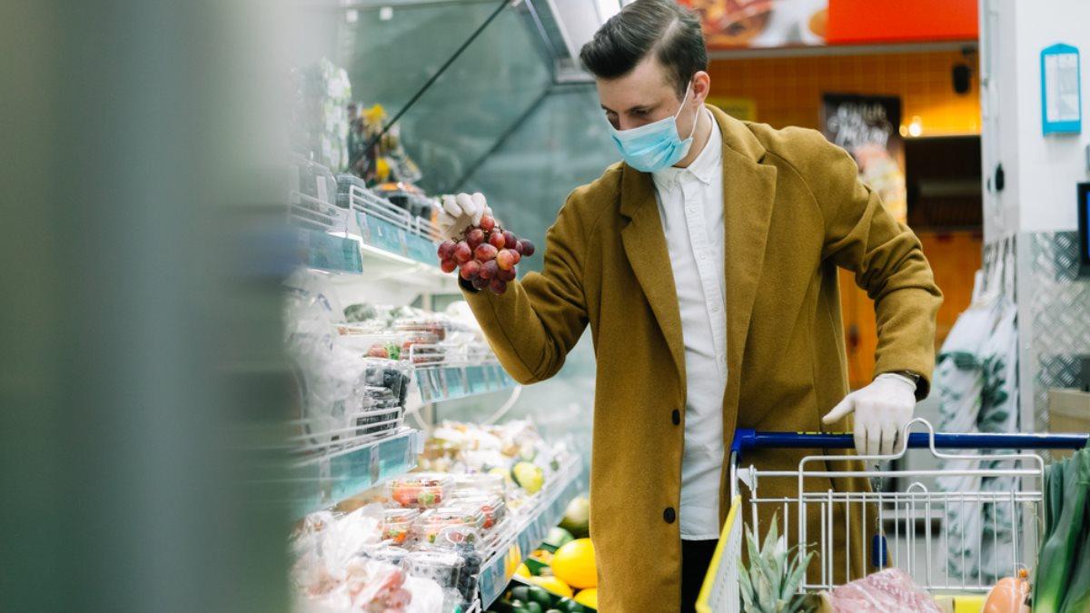 Магазин коронавирус продукты покупатель