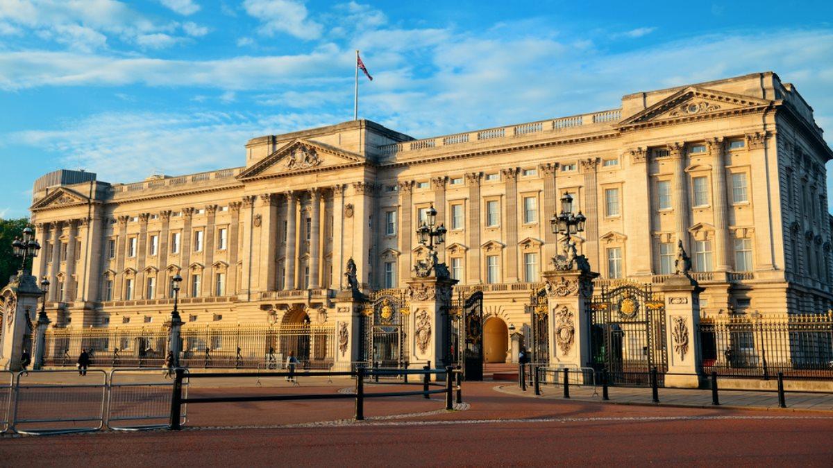 Букингемский дворец в Лондоне Великобритания один