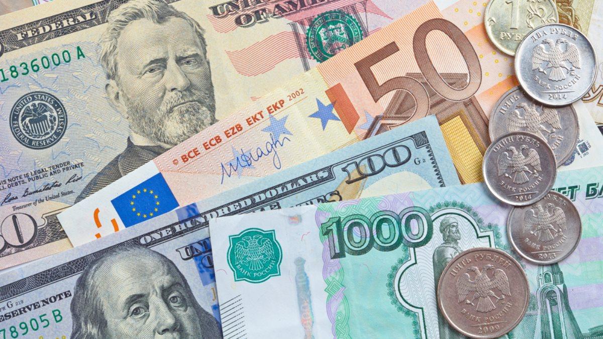 Рубли рубль евро доллары курс валют один