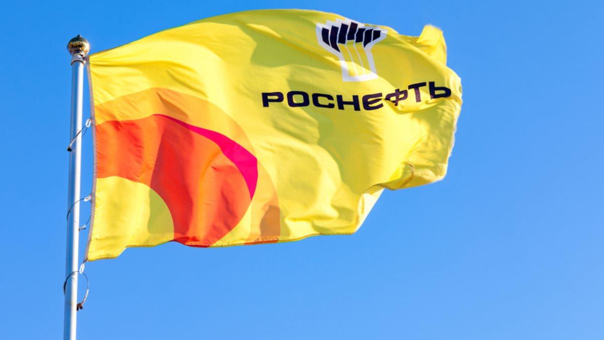 Роснефть логотип флаг