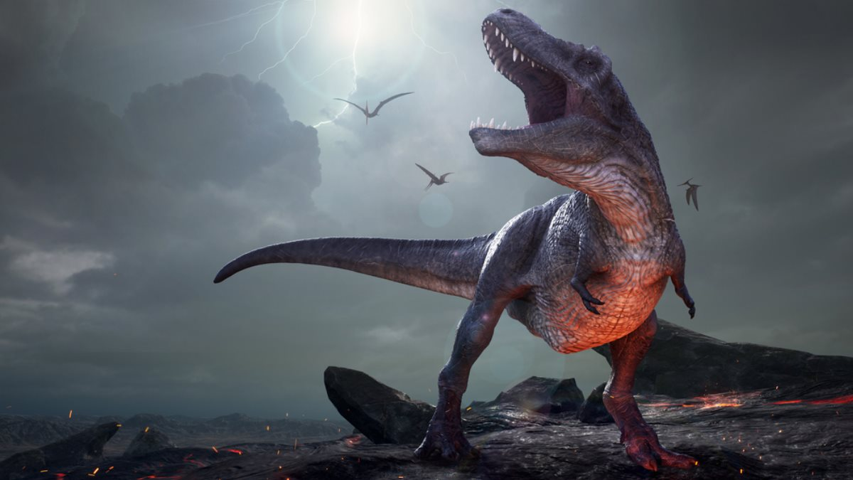 Тираннозавр Рекс динозавр