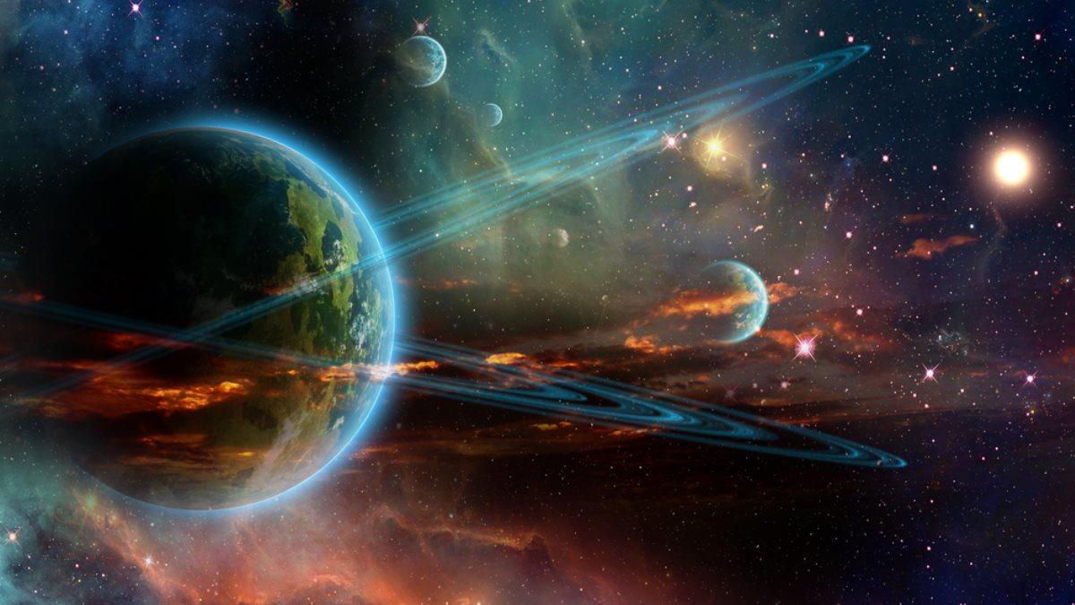 Планеты звёзды космос