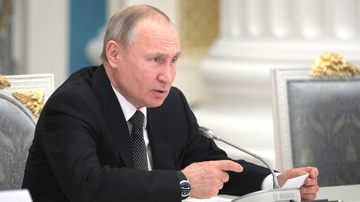 Путин конституция